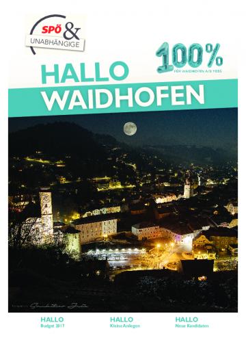 Hallo Waidhofen 12/2016