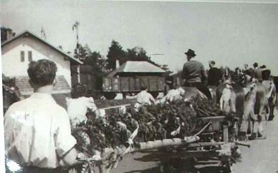 05 Mai 1946 Festlich geschmückte Kutsche.jpg
