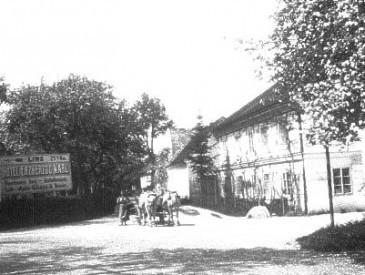 Fahrt durchs alte Ennsdorf