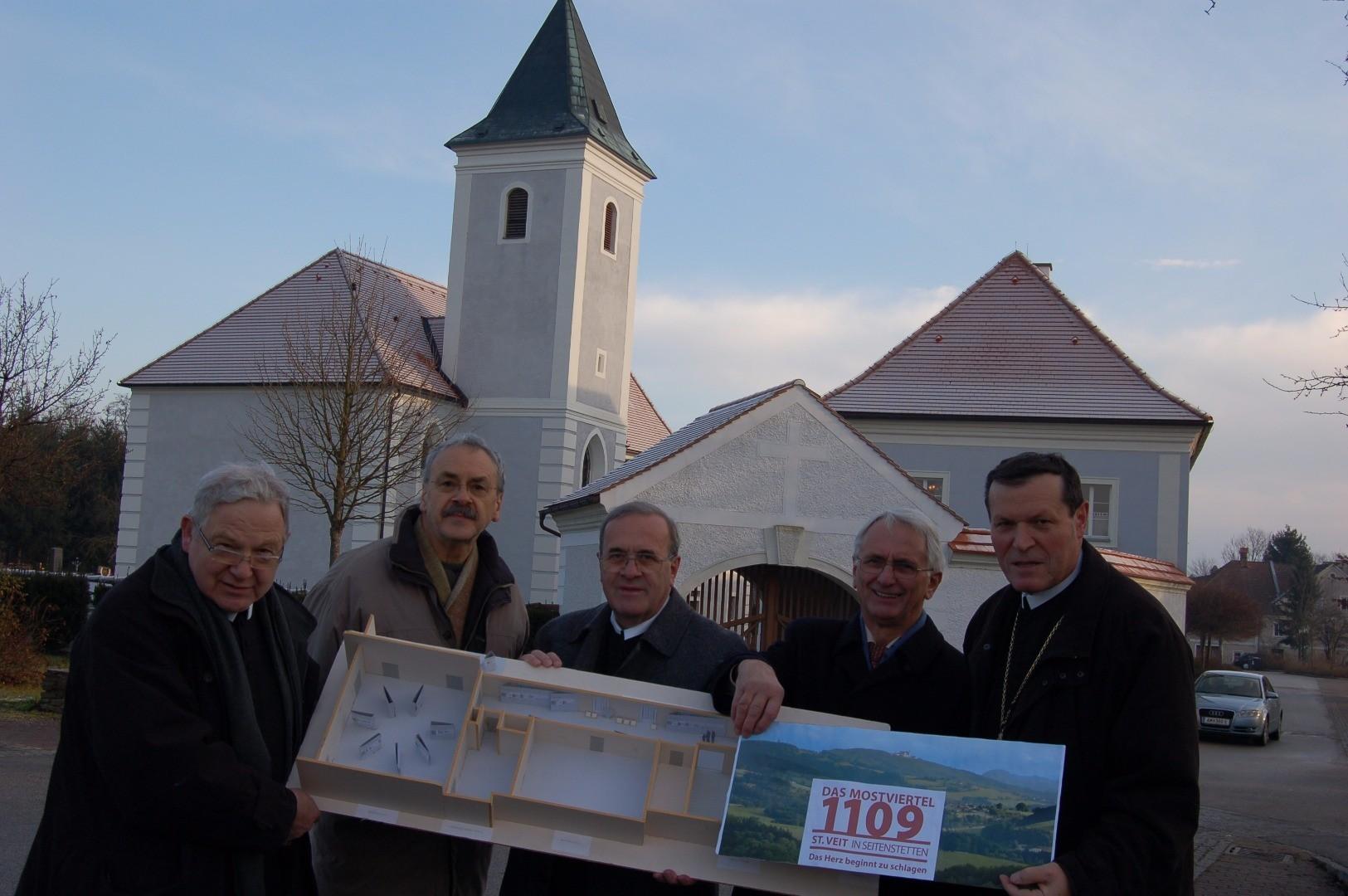 900er Jahrestag der Friedhofskirche
