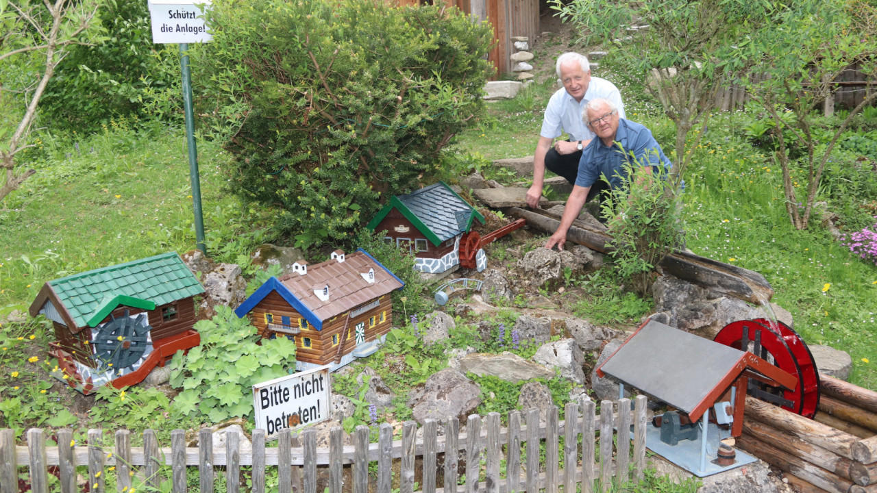 Berichte und fotos gemeinde ybbsitz for Goldfischteich bauen
