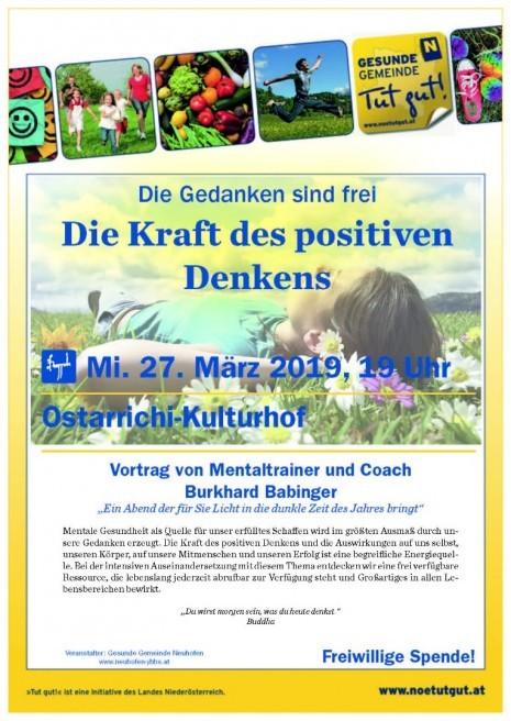 Veranstaltungen Neuhofen Ybbs