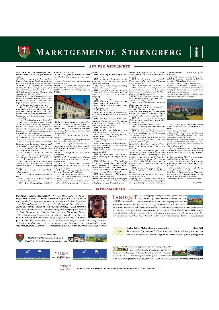 Geschichts- und Wirtschaftsdokumentation Strengberg