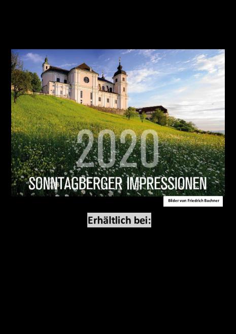 Fotokalender Sonntagberg 2020 Werbeinserat_Verkaufsstellen.pdf