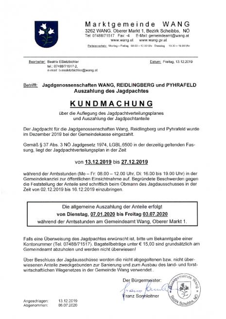 Kundmachung Jagdpachtauszahlung 2020_Wang.pdf