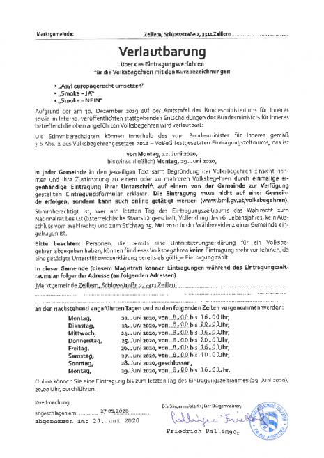 Zeillern Verlautbarung Asyl, Smoke JA, Nein 27-1-2020.pdf