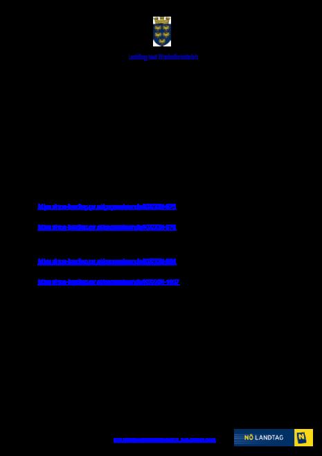 Gesetzesbeschlüsse 27.2.2020.