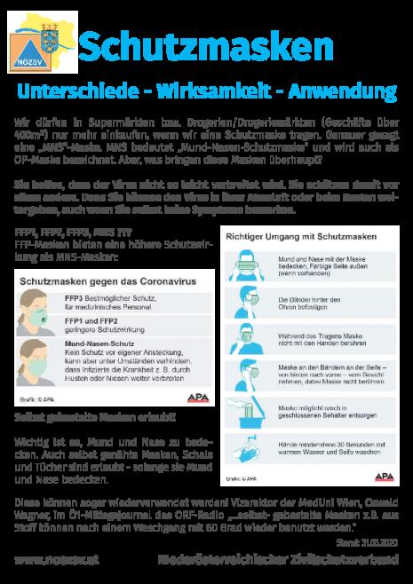 Info Zivilschutzverband - Schutzmasken.pdf