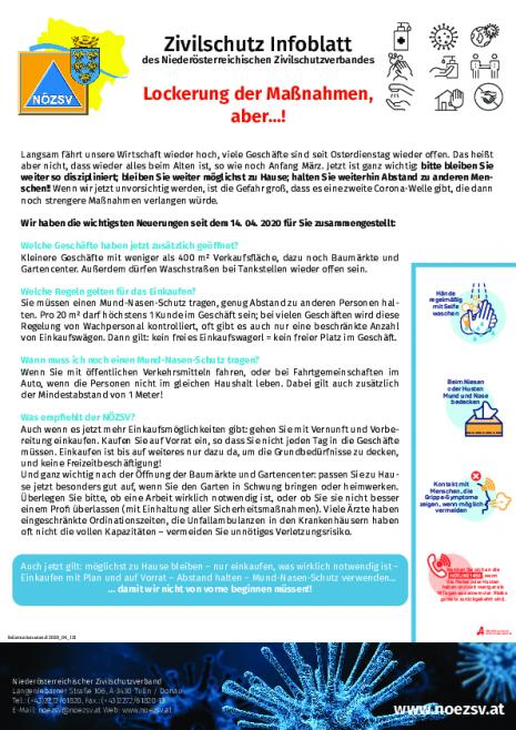 Info Zivilschutzverband - Lockerung der Maßnahmen, aber...!.pdf