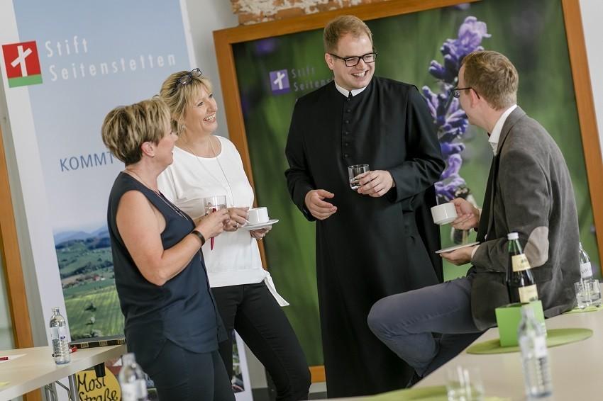 Bildung im Kloster; Fotokredit: Doris Schwarz König, Stift Seitenstetten und WeinFranz