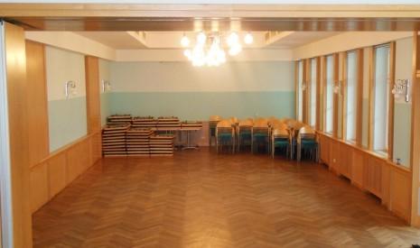 Festsaal der Marktgemeinde Steinakirchen/Forst