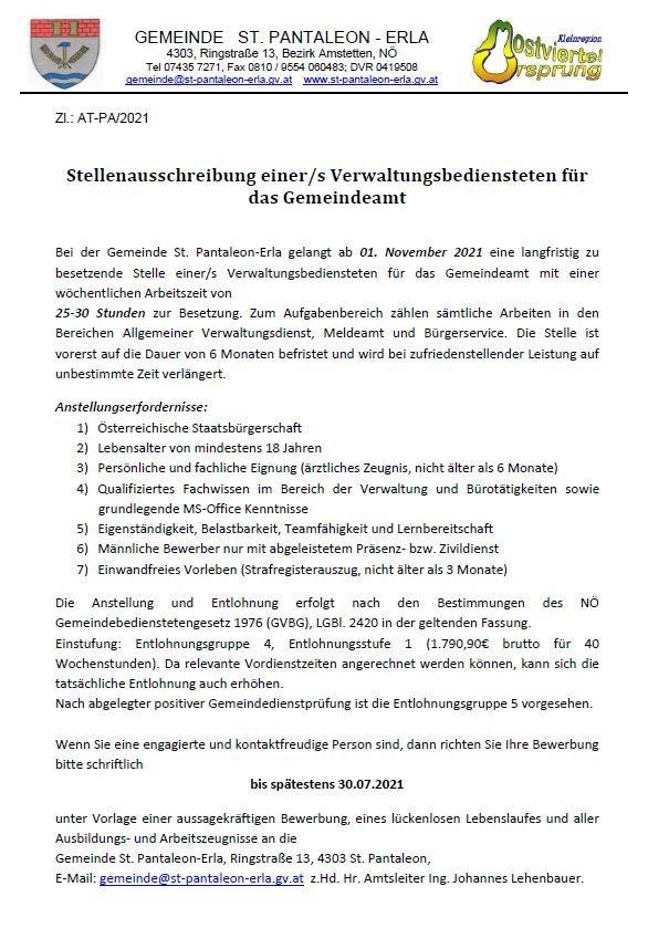 Stellenausschreibung VB Gemeindeamt.JPG