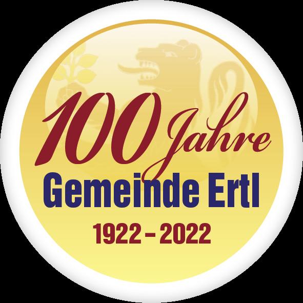 Logo 100 Jahre Gemeinde Ertl.png