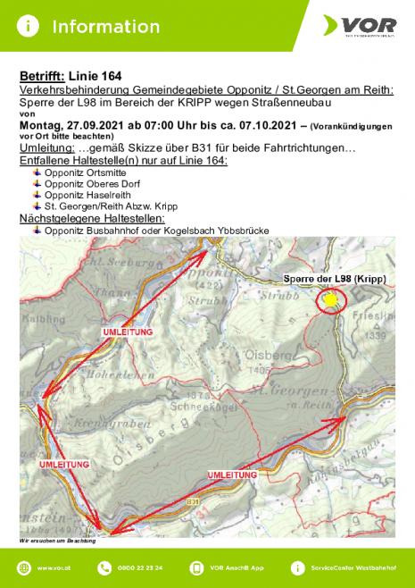 INFO_VOR-Linie 164 Sperre L98 Bereich KRIPP wegen Straßenneubau v. 27.09-ca.07.10.2021.pdf