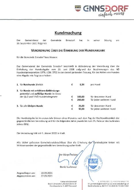 Verordnung, Hundebgabe.pdf