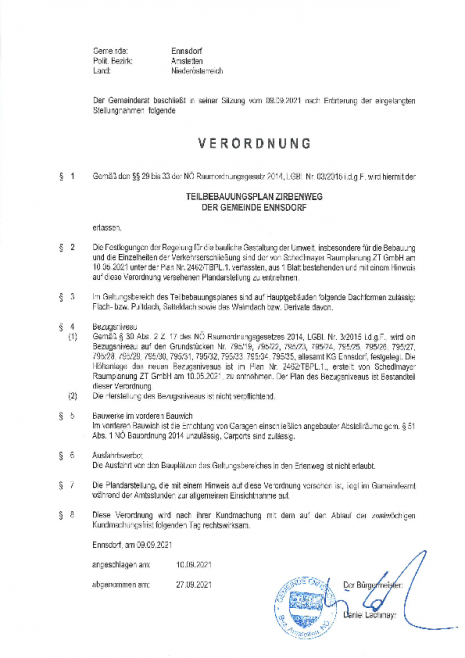 Verordnung, Teilbebauungsplan Zirbenweg.pdf