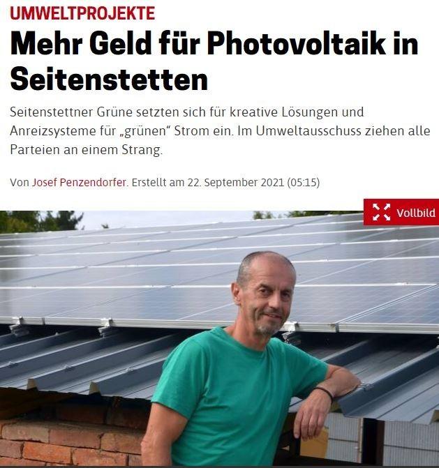 NOEN_KWmehr Geld für Photovoltaik in Seitenstetten.JPG