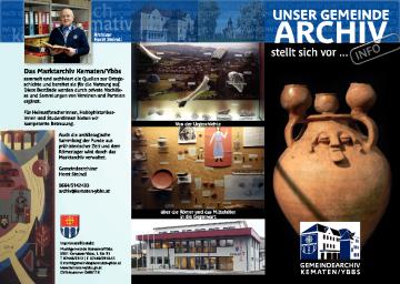 Infofolder Gemeindearchiv