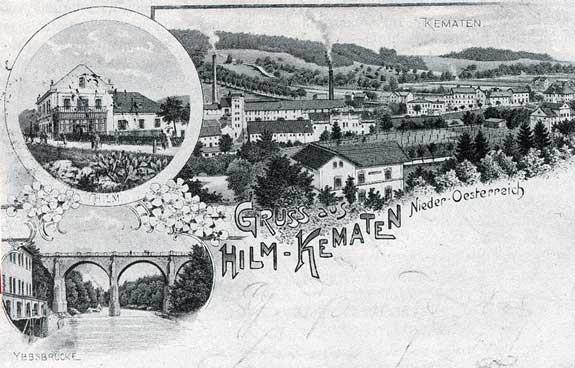 Ansichtskarte aus ca. 1890