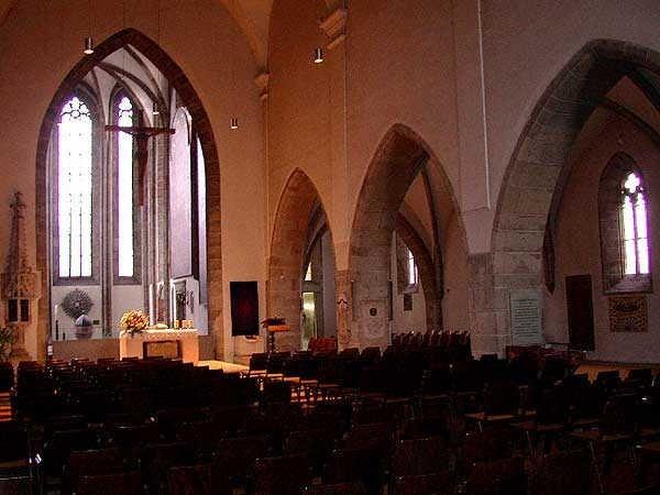 St. Laurenz innnen