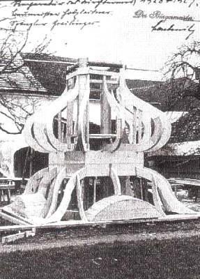 Kirchenrenovierung 1928