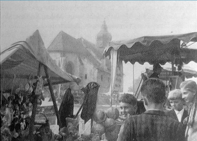 Kollmitzberger Kirtag historisch 1.JPG