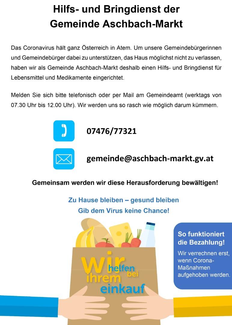 Bildungsangebote   Aschbach - Markt